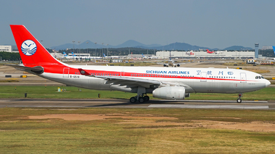 A picture of B6518 - Airbus A330243 - Sichuan Airlines - © Simon330lover