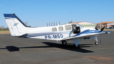 A picture of PRMSD - Beech G58 Baron - [TH2318] - © wellington francisco