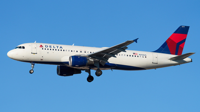 N312US - Airbus A320-211 - Delta Air Lines