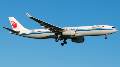 A picture of B5912 - Airbus A330343 - Air China - © GoldenWingPix