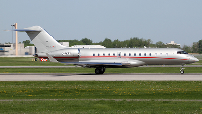 C-FKFY - Bombardier BD-700-1A10 Global 6000 - VistaJet