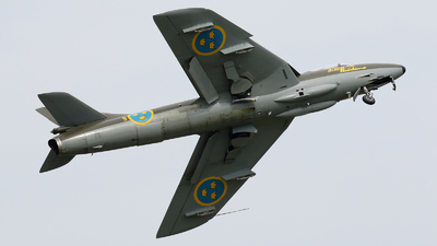 SE-DXM - Hawker Hunter F.58 - Swedish Airforce Historic Flight