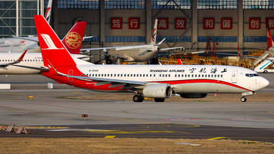 A picture of B5549 - Boeing 73786N - Shanghai Airlines - © Stefano R