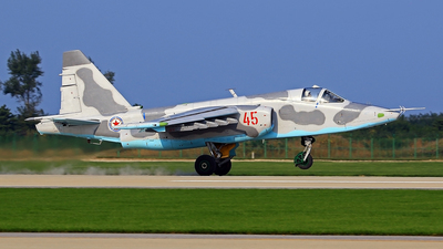 45 - Sukhoi Su-25 Frogfoot - North Korea - Air Force