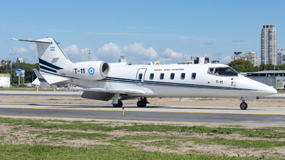 T-11 - Bombardier Learjet 60 - Argentina - Air Force