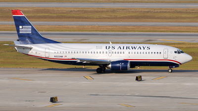 N322AW - Boeing 737-3G7 - US Airways