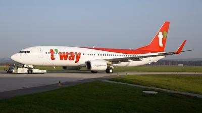 EI-ENZ - Boeing 737-8AS - T'Way Air