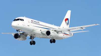 A picture of RA89117 - Sukhoi Superjet 10095B - Severstal Aircompany - © FlyPete