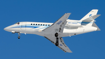 RA-09001 - Dassault Falcon 900B - Gazpromavia