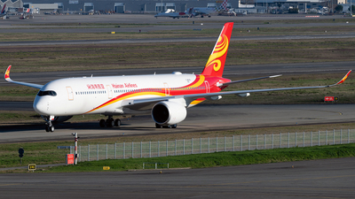 F-WZNS - Airbus A350-941 - Hainan Airlines