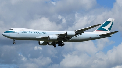 B-LJD - Boeing 747-867F - Cathay Pacific Cargo