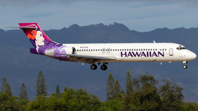 A picture of N475HA - Boeing 71722A - Hawaiian Airlines - © JacksonAviation
