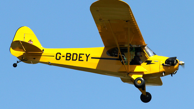G-BDEY - Piper J-3C-65 Cub - Private