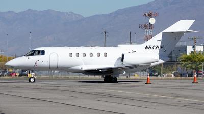 N543LF - Raytheon Hawker 800XP - Private