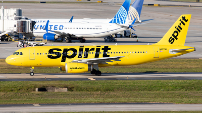 A picture of N697NK - Airbus A320232 - Spirit Airlines - © Alexandre Fazan