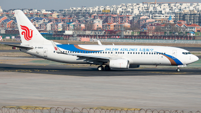 B-5850 - Boeing 737-89L - Dalian Airlines