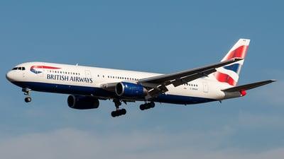 G-BNWW - Boeing 767-336(ER) - British Airways