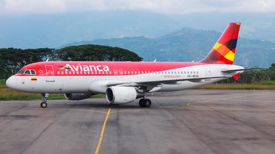 HK-4549 - Airbus A320-214 - Avianca
