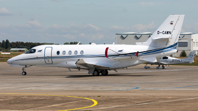 D-CAWN - Cessna Citation Latitude - Aerowest Flugcharter