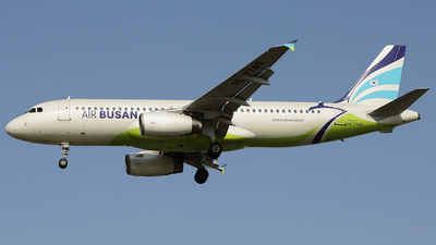 A picture of HL7745 - Airbus A320232 - Air Busan - © REDSOX