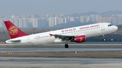 B-6341 - Airbus A320-214 - Juneyao Airlines