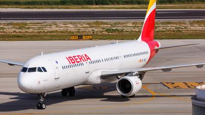 EC-JQZ - Airbus A321-212 - Iberia