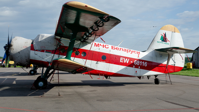 EW-68116 - PZL-Mielec An-2T - Belarus - Ministry for Emergency Situations (MChS)