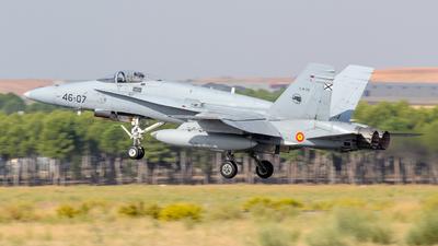 C.15-79 - McDonnell Douglas F/A-18A Hornet - Spain - Air Force