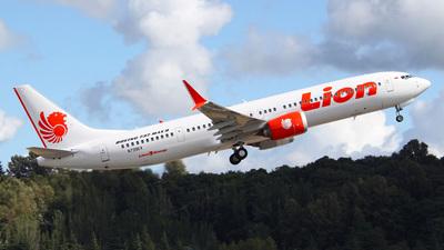 N739EX - Boeing 737-9 MAX - Lion Air