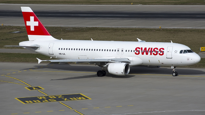 A picture of HBIJL - Airbus A320214 - Swiss - © SN7756