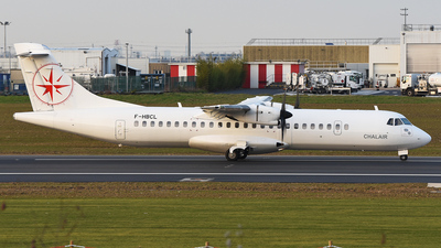 F-HBCL - ATR 72-212A(500) - Chalair Aviation