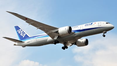A picture of JA820A - Boeing 7878 Dreamliner - All Nippon Airways - © Mike Garcia Roman (MAS Aviation Press)