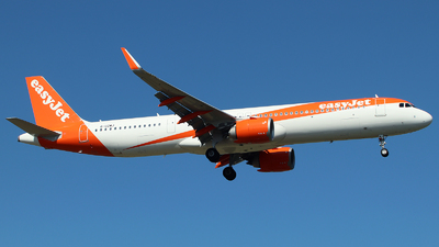 A picture of GUZMJ - Airbus A321251NX - easyJet - © n94504