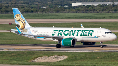 A picture of N332FR - Airbus A320251N - Frontier Airlines - © Centex Spotter