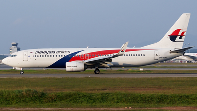 9M-MXL - Boeing 737-8H6 - Malaysia Airlines