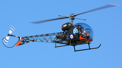 A picture of VHXTF - Bell 47G3B1 Trooper - [6659] - © Mark Taylor