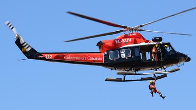 EC-KUV - Agusta-Bell AB-412 Griffon - Inaer