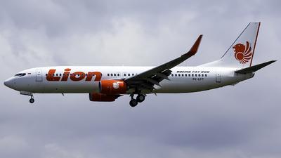 PK-LPT - Boeing 737-8GP - Lion Air
