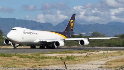 A picture of N613UP - Boeing 7478F - UPS - © Slightly Decent Spotting