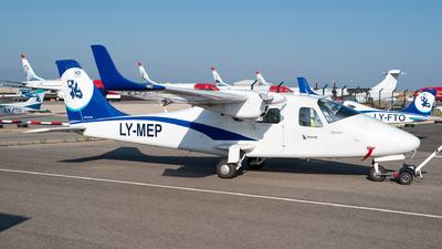 LY-MEP - Tecnam P2006T - Baltic Aviation Academy