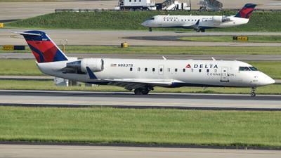 A picture of N8837B - Mitsubishi CRJ200LR - Delta Air Lines - © Matthew Calise