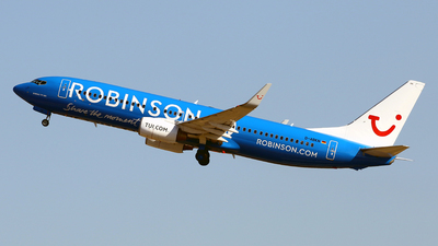 A picture of DABKN - Boeing 73786J - TUI fly - © Javier Rodriguez - Amics de Son Sant Joan