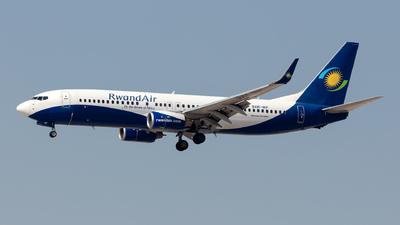 9XR-WF - Boeing 737-84Y - RwandAir