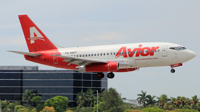 YV488T - Boeing 737-2Y5(Adv) - Avior Airlines