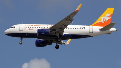A picture of A5JSW - Airbus A319115 - Druk Air - © Jun You