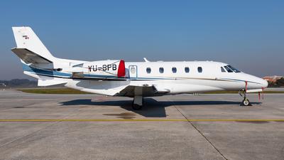 YU-SPB - Cessna 560XL Citation XLS - Air Pink
