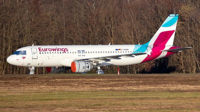 A picture of DABNH - Airbus A320214 - Eurowings - © Julian Azeroth