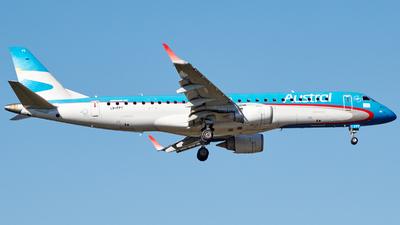 A picture of LVFPT - Embraer E190AR - Aerolineas Argentinas - © Christian Mandel