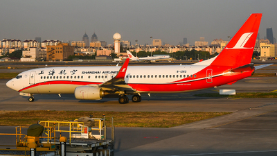 A picture of B1262 - Boeing 73789P - Shanghai Airlines - © Ohara Mari