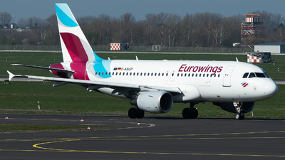 A picture of DABGP - Airbus A319112 - Eurowings - © Stefan Bayer